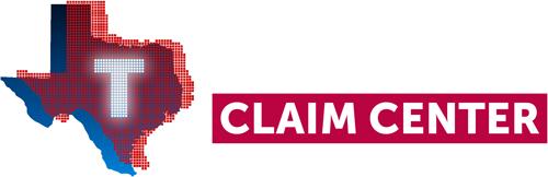 Texas Power Claim Center Logo (white)